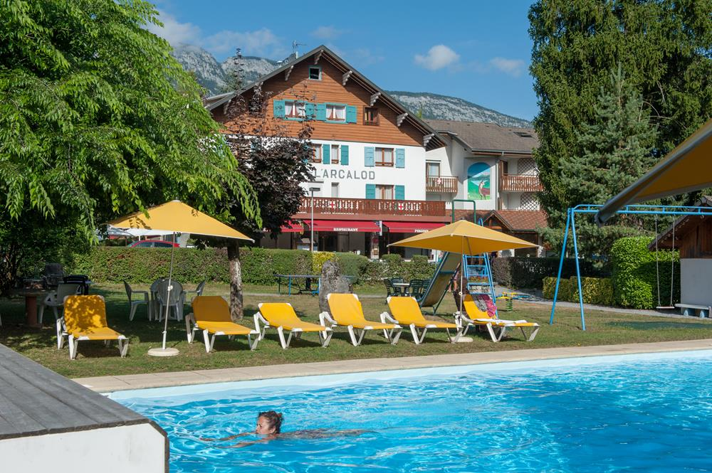 Activit s v lo piscine hotel lac annecy arcalod - Hotel annecy avec piscine ...